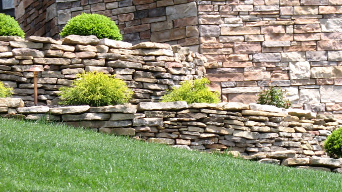 Residential Natural Stone : Peerless block brick residential products hardscape