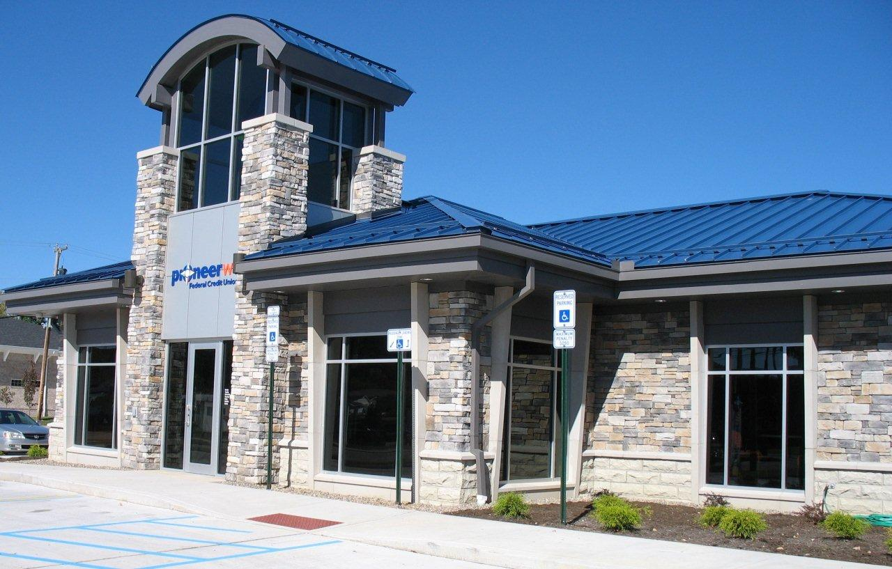 Marble Green Commercial Building Exteriors : Peerless block brick commercial products building