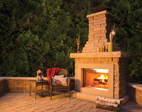 Outdoor Living Products : Peerless Block & Brick - Residential Products - Hardscape ...