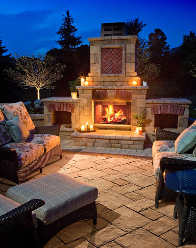 Outdoor Living Products : Peerless Block & Brick - Residential Products - Hardscape